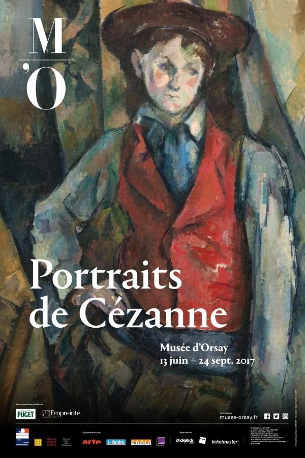 Portraits de Cezanne - Musée d'Orsay